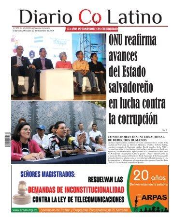 Edición 10 de Diciembre de 2014