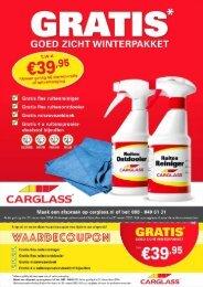 Carglass folder 10 t/m 31 december 2014