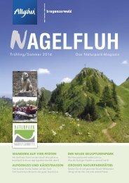 NAGELFLUH Frühling/Sommer 2014 - Das Naturpark-Magazin