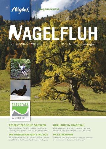 NAGELFLUH Herbst/Winter 2012/13 - Das Naturpark-Magazin
