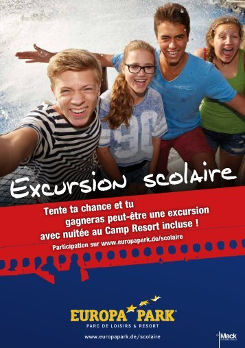 Excursion scolaire à Europa-park