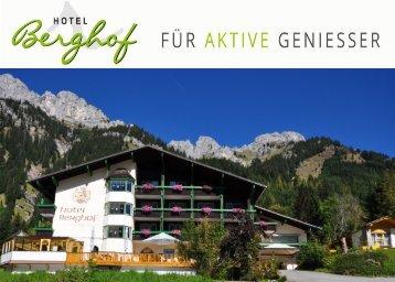Hotel Berghof, Nesselwängle, Tannheimert Tal, Tirol
