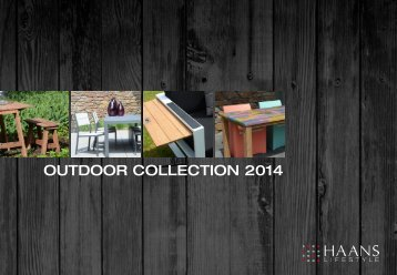 OUTDOOR COLLECTION 2014