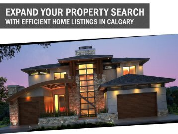 Expand your property search with efficient home listings in Calgary