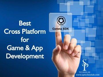 Create Cross Platform Apps using Corona SDK