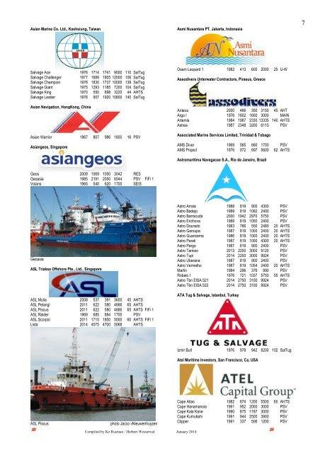 Asian Marine Co  Ltd , Ka