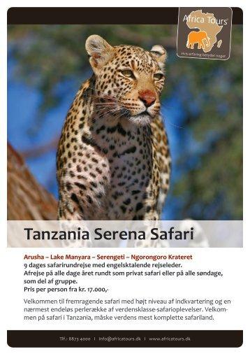 Tanzania Serena Safari