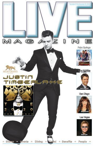 LIVE MAGAZINE VOL 8, Issue #198 DECEMBER 12th THRU December 26th, 2014