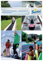 Sunkid Personenförderband/Zauberteppich® - Conveyor Belt