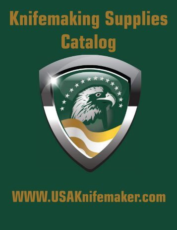 Knifemaking Supplies Catalog
