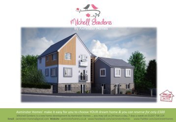The Mitchell Gardens Flats.  Two Bedroom Apartments Axminster