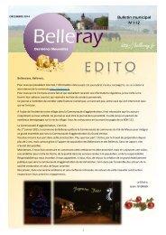 Belleray Dernières Nouvelles