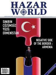 Hazar World - Sayı: 25 - Aralık 2014