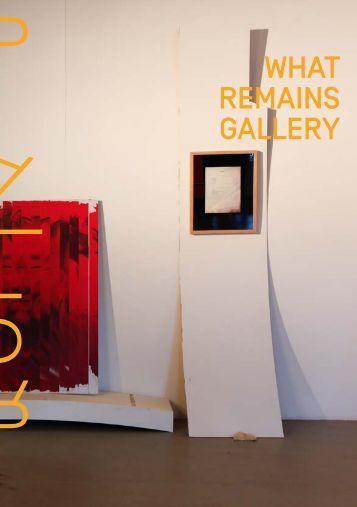 what remains gallery in der PLATFORM