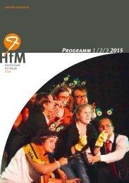 HfM-Programm 1 / 2/ 3 2015