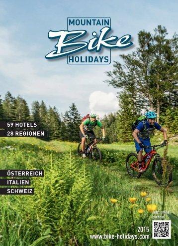 Katalog MountainBikeHolidays