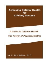 Achieving Optimal Health for Lifelong Success