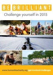 BE BRILLIANT IN 2015 - HUMANITAS CHALLENGES