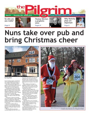Issue 34 - The Pilgrim - December 2014 - The newspaper of the Archdiocese of Southwark