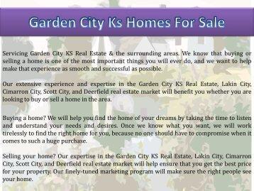 Garden City Ks Homes For Sale