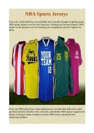 NBA Sports Jerseys