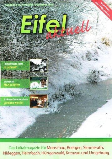 Eifel Aktuell Ausgabe 12.2014