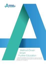 Method-Driven Smart Further Education (EN)