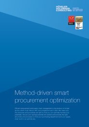 Method-driven smart procurement optimization (EN)