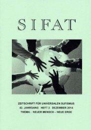 SIFAT - Zeitschrift für Universalen Sufismus - 2014 Heft 3 - Dezember (Leseprobe)