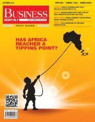 Business Monthly - October 2014
