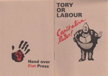 Tory or Labour, Capitalism rules!