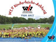 WLV Kinderleicht-Athletik VOR ORT 2015 - Infomappe