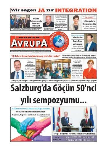 HABER AVRUPA - EUROPA JOURNAL DEZEMBER 2014