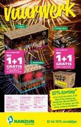 Ranzijn vuurwerk folder 2014/2015