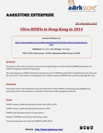 Aarkstore - Ultra HNWIs in Hong Kong in 2014