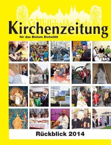 Kirchenzeitung für das Bistum Eichstätt