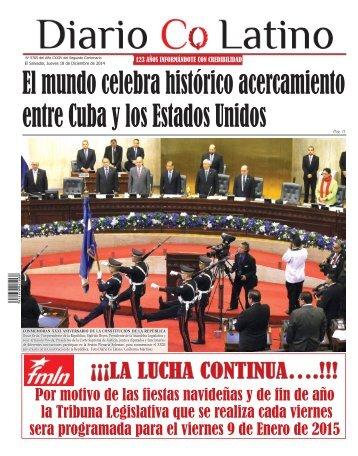 Edición 18 de Diciembre de 2014