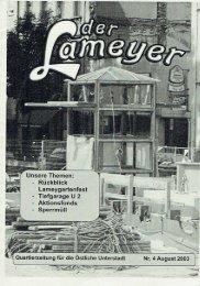 Der Lameyer - 2003 Nr.4 August