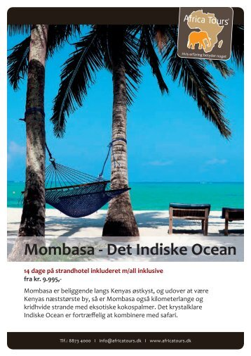 Mombasa - Det Indiske Ocean