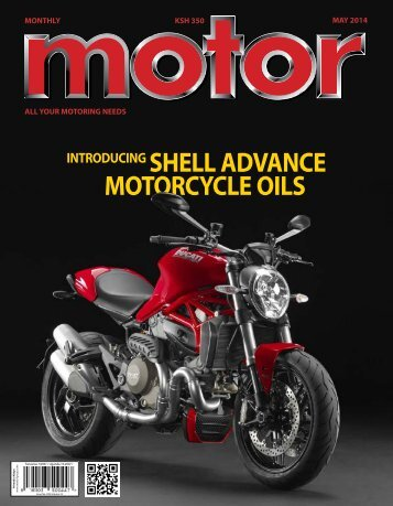 Monthly Motor - May 2014