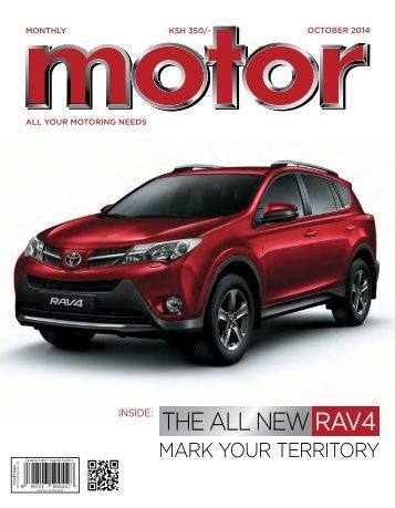 Monthly Motor - October 2014