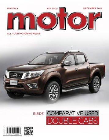Monthly Motor - December 2014