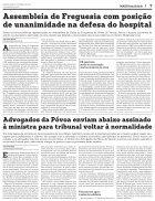 Tribunal da Póvoa apenas com serviços mínimos - Page 7
