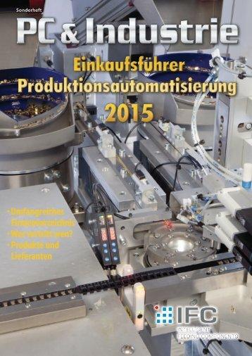 Einkaufsführer Produktionsautomatisierung 2015