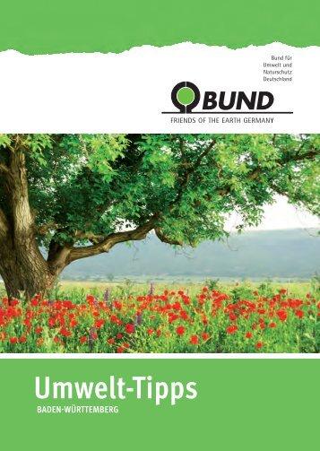 BUND Umwelt-Tipps Freiburg/Offenburg 2015