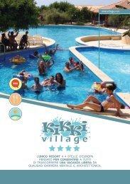 IT - Brochure Gruppi Kikki Village