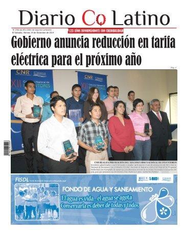 Edición 19 de Diciembre 2014