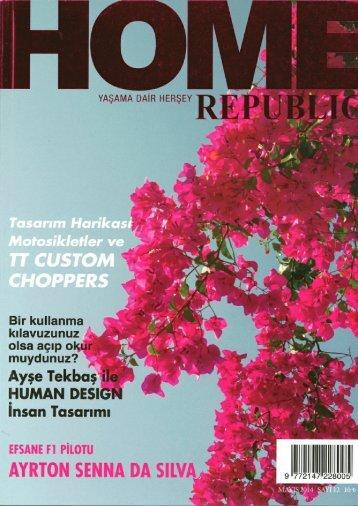 Home Republic Röportaj Mayıs 2014