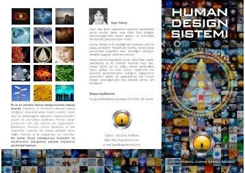 Human Design Tanıtım Broşürü