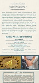 Human Design Kurumsal Broşür - Page 3